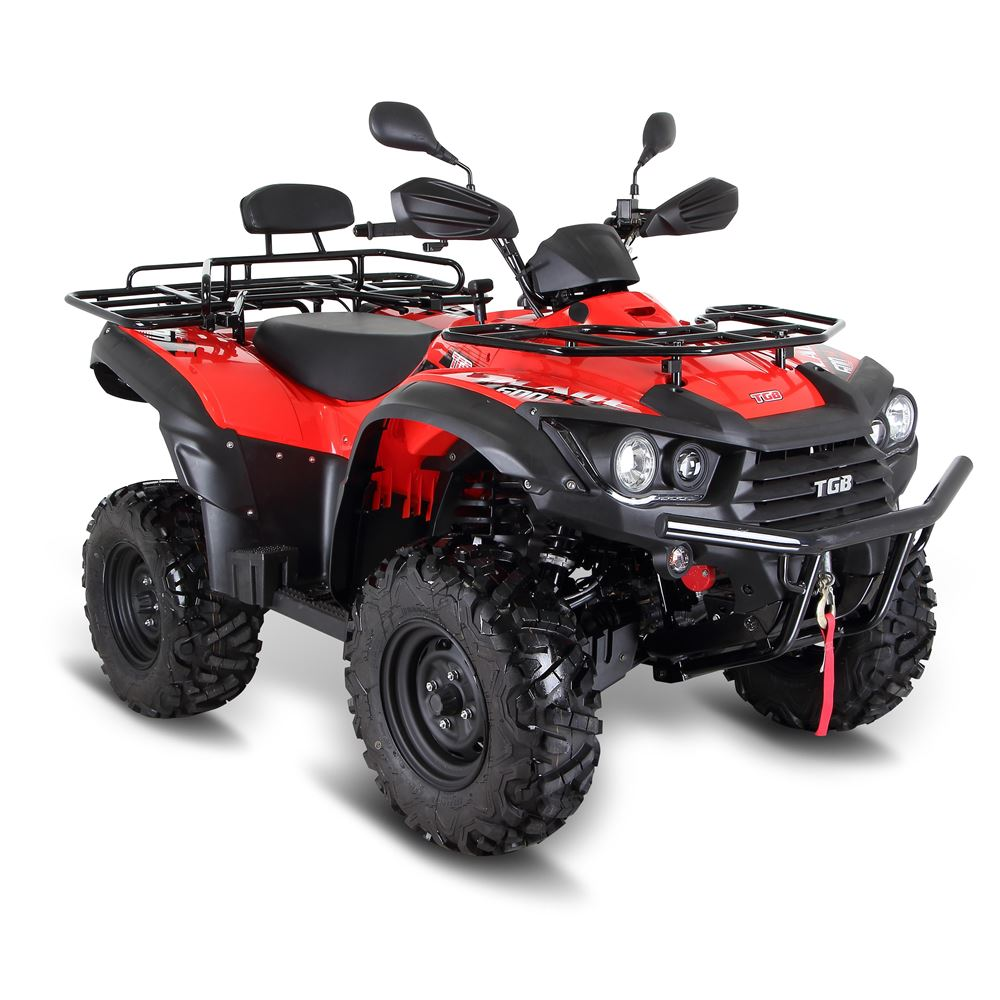 tgb blade 600sl 4x4 eps utility farm red quad bike