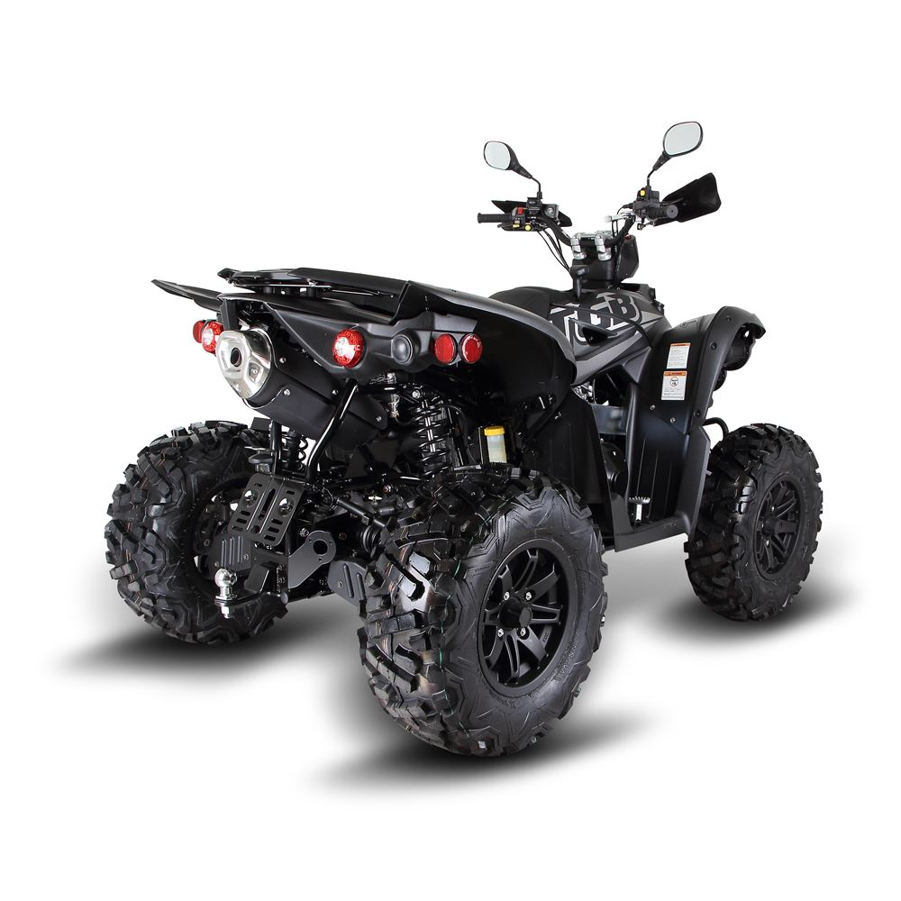 Street Bike Quad: Tgb Target 600 Black Road Legal Quad Bike